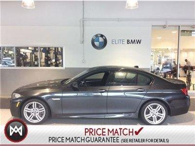 Preowned BMW I XDrive PREMIUM M SPORT AWD In Ottawa - 2014 bmw 535i price