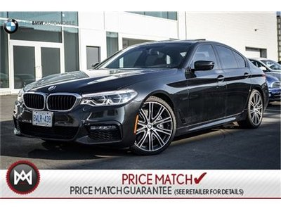 2017 BMW 540i PREMIUM ENHANCED, M SPORT, AWD