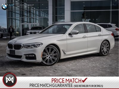 2017 BMW 540i PREMIUM ENHANCED, MASSAGE SEATS, NAV