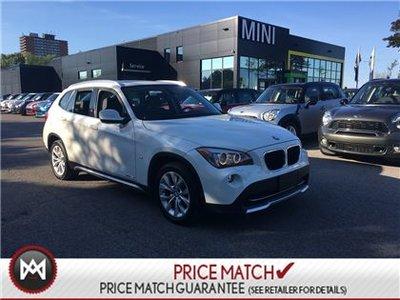 2012 BMW X1 NEW BRAKES NEW TIRES WHITE ON BLACK X1 LOW KM'S