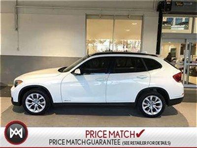 2013 BMW X1 AWD, PREMIUM, WHITE