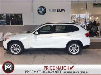 BMW X1 AWD, 53K, WHITE 2013