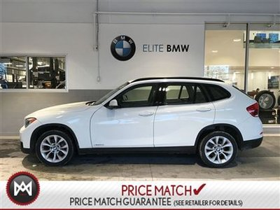 2014 BMW X1 LEATHER, SUNROOF, PREMIUM
