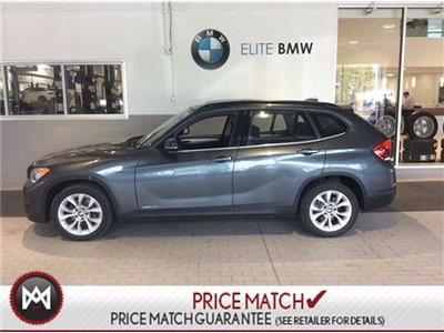 2014 BMW X1 AWD, PREMIUM, SUNROOF