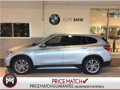 BMW X1 AWD, PREMIUM ESSENTIAL, SUNROOF 2017