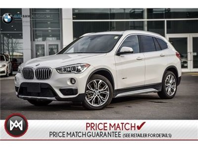 bmw x1 premium awd sunroof 2017 d 39 occasion vendre price elite bmw. Black Bedroom Furniture Sets. Home Design Ideas