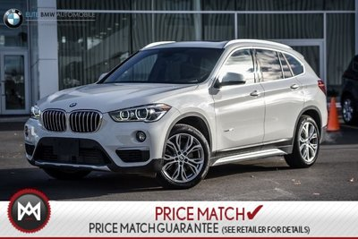 BMW X1 PREMIUM, AWD, SUNROOF 2017