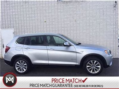 2013 BMW X3 ROOF LEATHER AWD 3.5