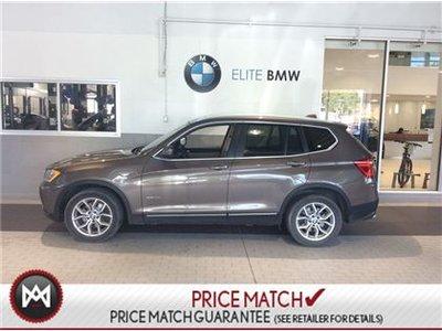 2013 BMW X3 PREMIUM, AWD, X3