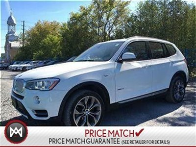 2015 BMW X3 NAV, SUNROOF, BACKUP CAMERA
