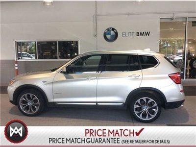 BMW X3 AWD, PREMIUM ENHANCED, NAV 2015
