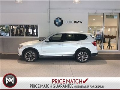 BMW X3 EXECUTIVE, PREMIUM ENHANCED, AWD 2015