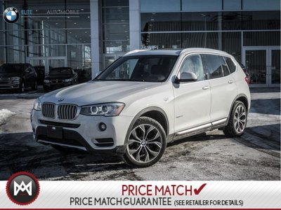 BMW X3 AWD, PREMIUM, REAR CAMERA 2015