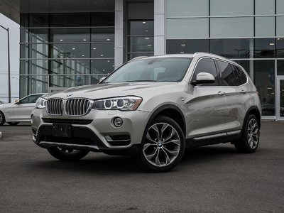 BMW X3 NAV, AWD, PREMIUM ENHANCED 2015