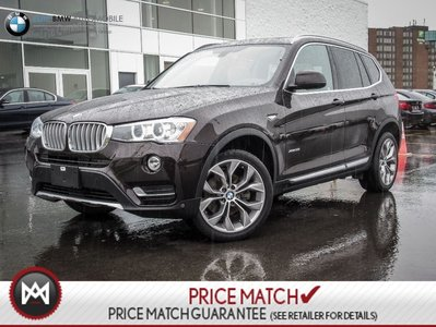 BMW X3 PREMIUM ENHANCED, AWD, NAVIGATION 2016