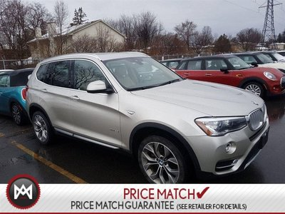 2016 BMW X3 NAV LEATHER REVERSE CAMERA WEATHER TECHS CLEAN