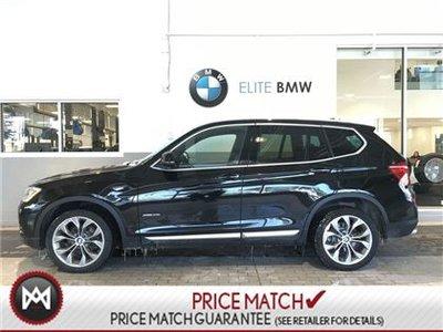 BMW X3 NAV, PREMIUM, AWD 2017