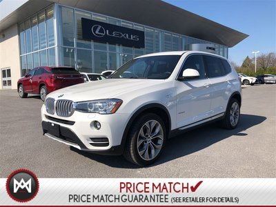 2017 BMW X3 AWD NAVIGATION SUNROOF - PRICED TO SELL