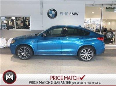 BMW X4 PREMIUM, EXECUTIVE, LOADED 2017