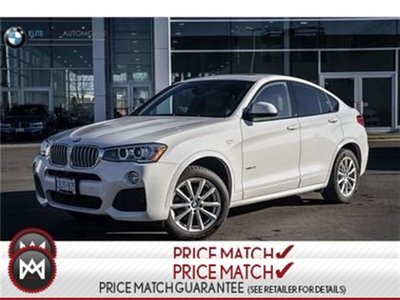 2017 BMW X4 PREMIUM ENHANCED, M SPORT, AWD