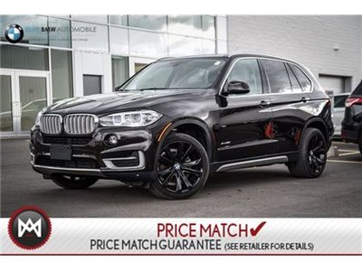 BMW X5 AWD, NAV, SUNROOF 2016