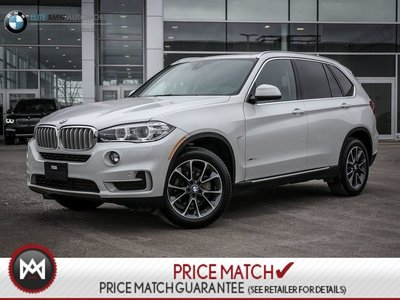 2017 BMW X5 PREMIUM ENHANCED, NAV, AWD