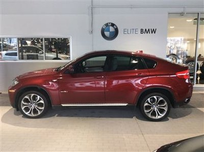 2012 BMW X6 EXECUTIVE, TECHNOLOGY, LOADED