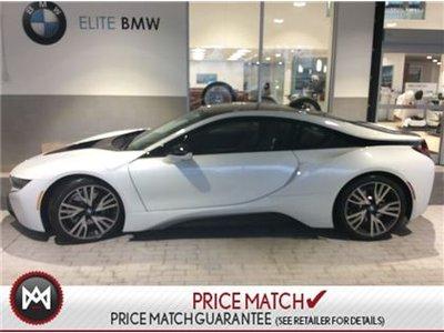 BMWi I8 LOW MILEGE, WHITE, i8 2017