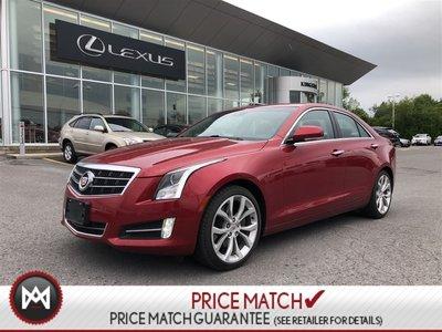 Pre-owned 2013 Cadillac ATS PREMIUM PACK - NAVI - SPORT SEATS - AUTO