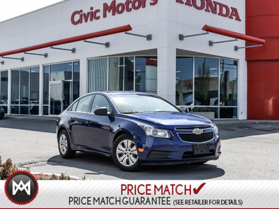 Chevrolet Cruze LS+ W/1SB - CLIMATE CONTROL, POWER WINDOWS, 2012