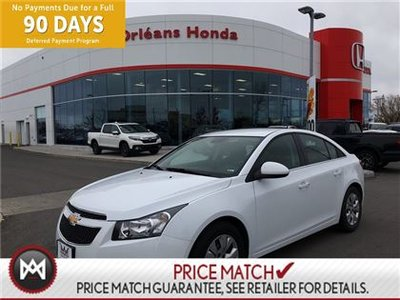 2014 Chevrolet Cruze 1LT 1.4 L TURBO CHARGED ECO BOOST,KEYLESS ENTRY