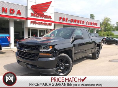 Chevrolet Silverado 1500 CUSTOM* LOW KM'S! BLUETOOTH! DOUBLE CAB! 2017