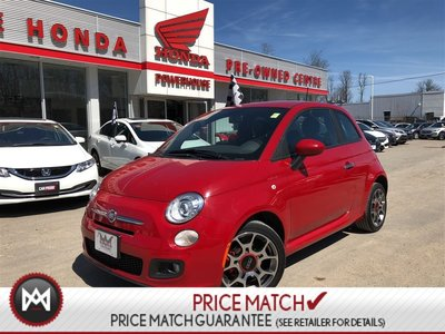 2013 Fiat 500 SPORT! HEATED SEATS! BLUETOOTH*