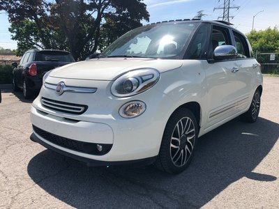 2014 Fiat 500 HEATED SEATS PANO ROOF REVERSE CAMERA 5 PASS LOW KM