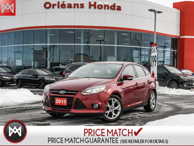 2013 Ford Focus 5DR HB Titanium,leather Heated seats, Roof