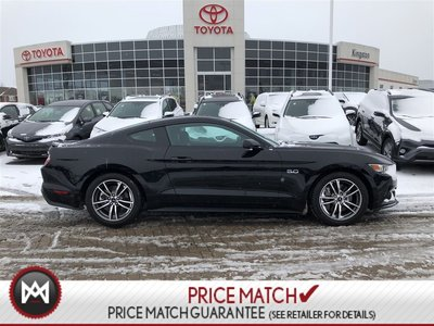 2017 Ford Mustang GT PREMIUM - 5.0 - COOLED SEATS - NAVI - LEATHER