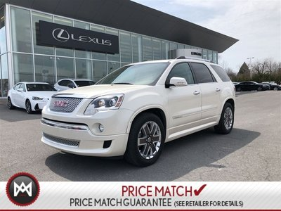 2012 GMC Acadia DENALI - LOW KM - WHITE DIAMOND
