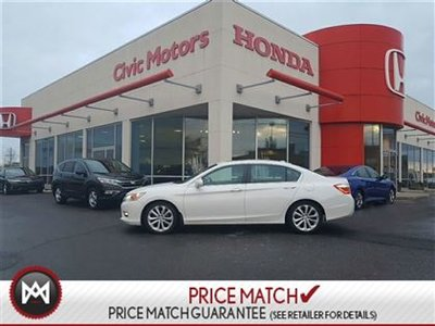 2014 Honda Accord Sedan TOURING - 4YR/100KM WARRANTY, NAVIGATION, SUNROOF