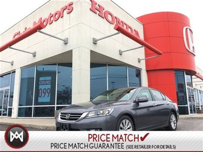 2014 Honda Accord Sedan EX-L - LEATHER, HEATED SEATS,  BACK UP CAMERA