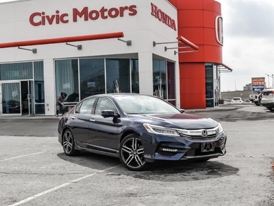 Honda Accord Sedan TOURING - NAVIGATION, HEATED SEATS, V6 2016