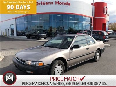 1991 Honda Accord DX/LX , POWER WINDOWS, A/C ,CRUISE CONTROL