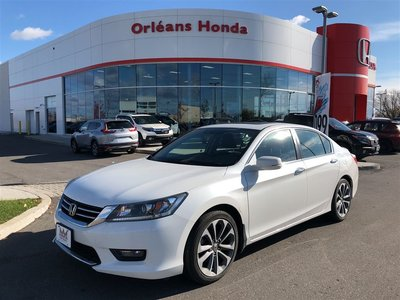 2015 Honda Accord SPORT, DUAL EXHAUST, ALLOYS ,PADDLE SHIFTER