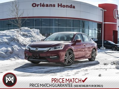 2017 Honda Accord Sport- ONE Owner Clean Carfax