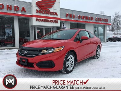 2014 Honda Civic Coupe LX* LOW KM'S! $58.29 WEEKLY! BLUETOOTH! A/C*SPORTY