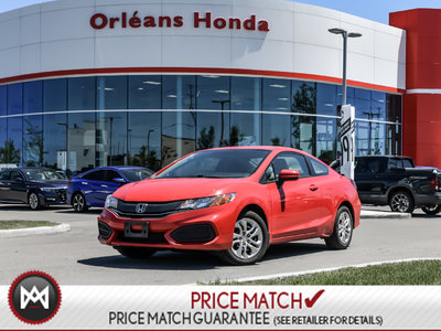 2015 Honda Civic Coupe LX, KEYLESS ENTRY, HEATED SEATS,BLUETOOTH