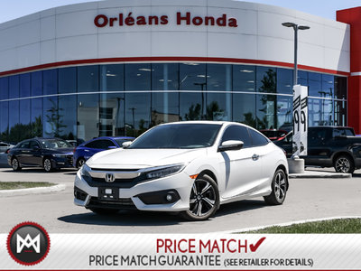 2017 Honda Civic Coupe TOURING,LEATHER, HEATED SEATS, SUNROOF,