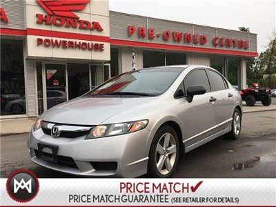 2011 Honda Civic Sdn DX-G **$36.30 WEEKLY**!!! CRUISE CONTROL! A/C! CD!