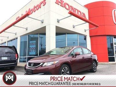 2013 Honda Civic Sdn EX - SUNROOF, ALLOYS, BACK UP CAM