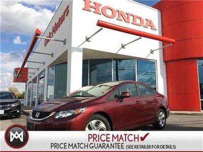 2013 Honda Civic Sdn LX - HEATED SEATS, BLUETOOTH, CRUISE