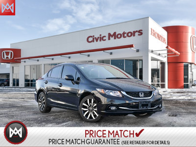2013 Honda Civic Sdn TOURING - NAVIGATION, LEATHER, CRUISE CONTROL
